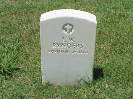 RYNDERS, I W - Pulaski County, Arkansas   I W RYNDERS - Arkansas Gravestone Photos