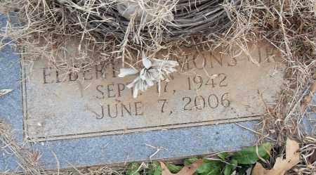 S-MONS JR, ELBERT - Pulaski County, Arkansas   ELBERT S-MONS JR - Arkansas Gravestone Photos