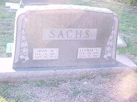 SACHS, IRVIN H - Pulaski County, Arkansas | IRVIN H SACHS - Arkansas Gravestone Photos