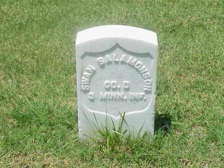 SALAMONSON (VETERAN UNION), SWAN - Pulaski County, Arkansas   SWAN SALAMONSON (VETERAN UNION) - Arkansas Gravestone Photos