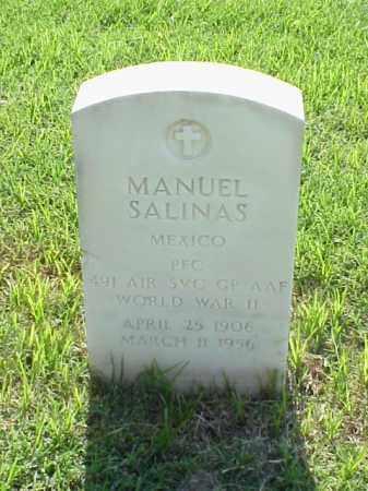 SALINAS (VETERAN WWII), MANUEL - Pulaski County, Arkansas   MANUEL SALINAS (VETERAN WWII) - Arkansas Gravestone Photos
