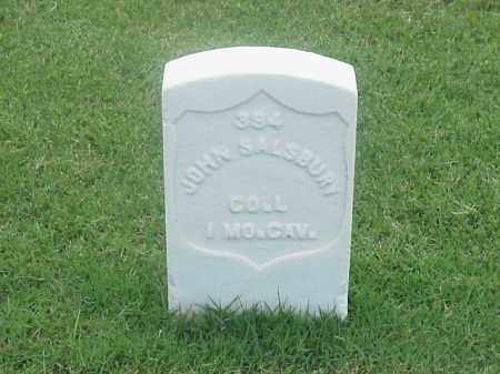 SALSBURY (VETERAN UNION), JOHN - Pulaski County, Arkansas | JOHN SALSBURY (VETERAN UNION) - Arkansas Gravestone Photos