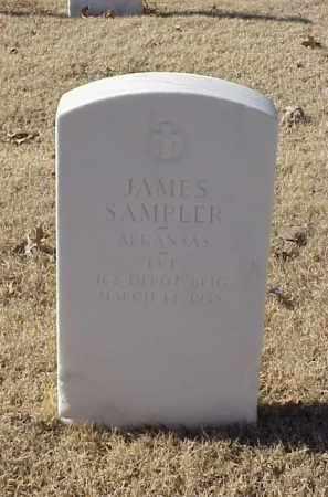 SAMPLER (VETERAN WWI), JAMES - Pulaski County, Arkansas   JAMES SAMPLER (VETERAN WWI) - Arkansas Gravestone Photos