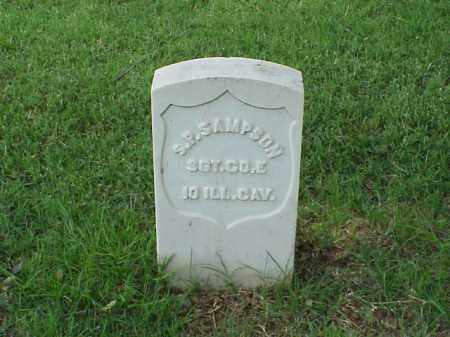 SAMPSON (VETERAN UNION), S P - Pulaski County, Arkansas   S P SAMPSON (VETERAN UNION) - Arkansas Gravestone Photos