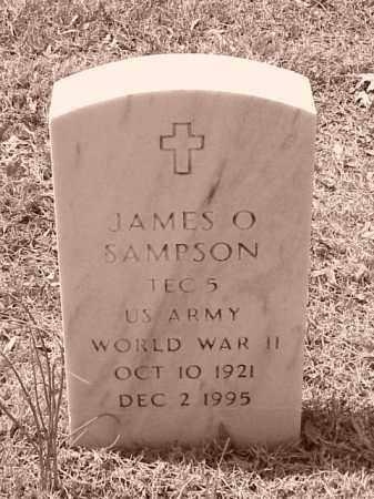 SAMPSON (VETERAN WWII), JAMES O - Pulaski County, Arkansas | JAMES O SAMPSON (VETERAN WWII) - Arkansas Gravestone Photos