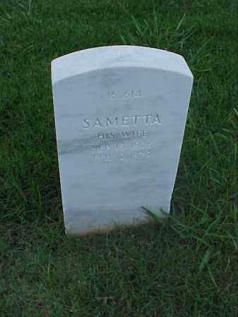SAMS, SAMETTA - Pulaski County, Arkansas | SAMETTA SAMS - Arkansas Gravestone Photos