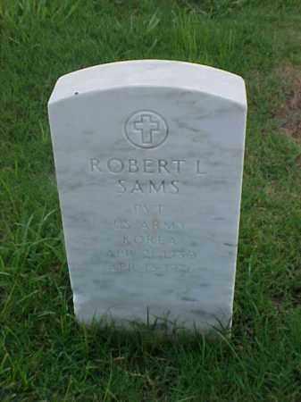 SAMS (VETERAN KOR), ROBERT L - Pulaski County, Arkansas | ROBERT L SAMS (VETERAN KOR) - Arkansas Gravestone Photos