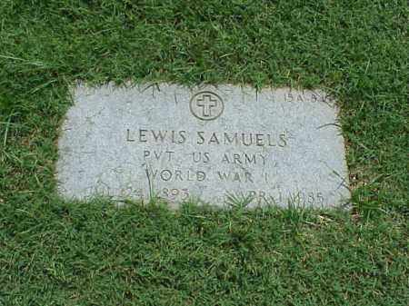 SAMUELS (VETERAN WWI), LEWIS - Pulaski County, Arkansas | LEWIS SAMUELS (VETERAN WWI) - Arkansas Gravestone Photos