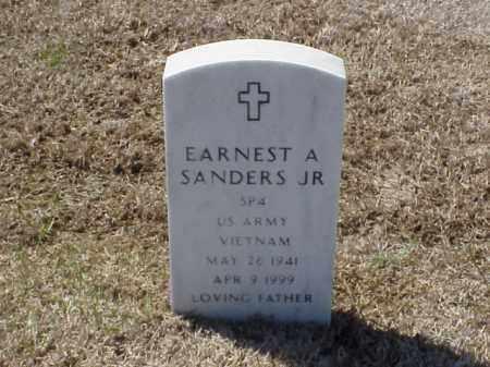 SANDERS, JR (VETERAN VIET), EARNEST A - Pulaski County, Arkansas | EARNEST A SANDERS, JR (VETERAN VIET) - Arkansas Gravestone Photos