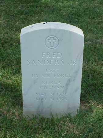 SANDERS, JR (VETERAN 2 WARS), FRED - Pulaski County, Arkansas   FRED SANDERS, JR (VETERAN 2 WARS) - Arkansas Gravestone Photos