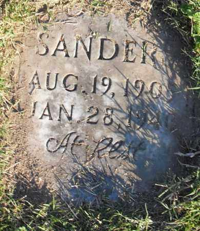 SANDERS, JOHN - Pulaski County, Arkansas | JOHN SANDERS - Arkansas Gravestone Photos