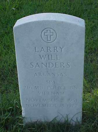 SANDERS (VETERAN VIET), LARRY WILL - Pulaski County, Arkansas | LARRY WILL SANDERS (VETERAN VIET) - Arkansas Gravestone Photos