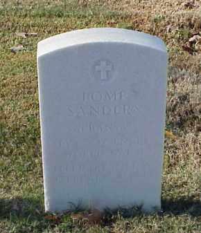 SANDERS (VETERAN WWI), POMP - Pulaski County, Arkansas | POMP SANDERS (VETERAN WWI) - Arkansas Gravestone Photos