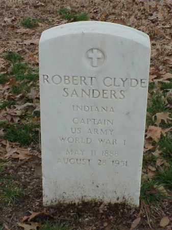 SANDERS (VETERAN WWI), ROBERT CLYDE - Pulaski County, Arkansas | ROBERT CLYDE SANDERS (VETERAN WWI) - Arkansas Gravestone Photos