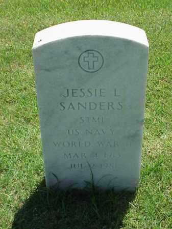 SANDERS (VETERAN WWII), JESSIE L - Pulaski County, Arkansas | JESSIE L SANDERS (VETERAN WWII) - Arkansas Gravestone Photos