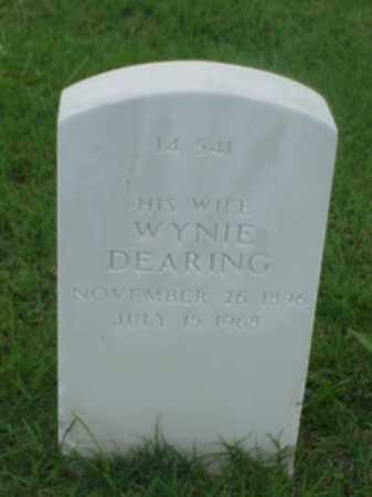 DEARING SANDERS, WYNIE - Pulaski County, Arkansas | WYNIE DEARING SANDERS - Arkansas Gravestone Photos