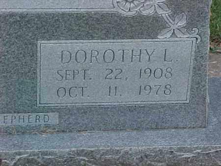 SANDERSON, DOROTHY L (2) - Pulaski County, Arkansas | DOROTHY L (2) SANDERSON - Arkansas Gravestone Photos