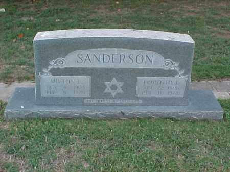 SANDERSON, DOROTHY L - Pulaski County, Arkansas | DOROTHY L SANDERSON - Arkansas Gravestone Photos