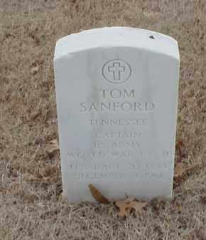 SANFORD  (VETERAN 2 WARS), TOM - Pulaski County, Arkansas | TOM SANFORD  (VETERAN 2 WARS) - Arkansas Gravestone Photos
