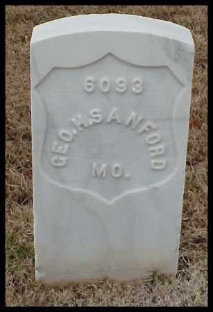 SANFORD (VETERAN UNION), GEORGE H - Pulaski County, Arkansas | GEORGE H SANFORD (VETERAN UNION) - Arkansas Gravestone Photos