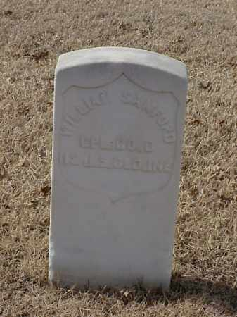 SANFORD (VETERAN UNION), WILLIAM - Pulaski County, Arkansas | WILLIAM SANFORD (VETERAN UNION) - Arkansas Gravestone Photos