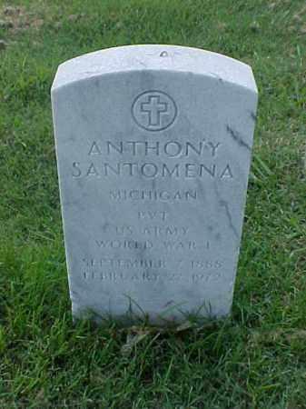 SANTOMENA (VETERAN WWI), ANTHONY - Pulaski County, Arkansas | ANTHONY SANTOMENA (VETERAN WWI) - Arkansas Gravestone Photos