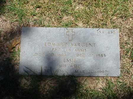 SARGENT, ESSIE - Pulaski County, Arkansas   ESSIE SARGENT - Arkansas Gravestone Photos