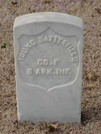 SATTERFIELD (VETERAN UNION), YOUNG - Pulaski County, Arkansas | YOUNG SATTERFIELD (VETERAN UNION) - Arkansas Gravestone Photos