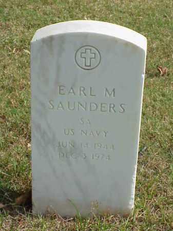 SAUNDERS (VETERAN), EARL M - Pulaski County, Arkansas | EARL M SAUNDERS (VETERAN) - Arkansas Gravestone Photos