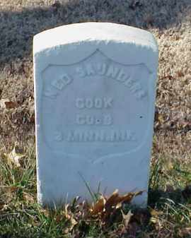 SAUNDERS (VETERAN UNION), NED - Pulaski County, Arkansas   NED SAUNDERS (VETERAN UNION) - Arkansas Gravestone Photos