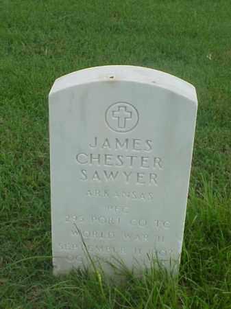 SAWYER (VETERAN WWII), JAMES CHESTER - Pulaski County, Arkansas   JAMES CHESTER SAWYER (VETERAN WWII) - Arkansas Gravestone Photos