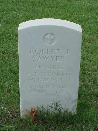 SAWYER (VETERAN WWII), ROBERT J - Pulaski County, Arkansas | ROBERT J SAWYER (VETERAN WWII) - Arkansas Gravestone Photos