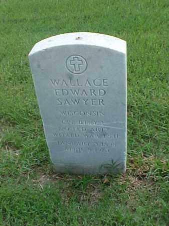 SAWYER (VETERAN 2 WARS), WALLACE EDWARD - Pulaski County, Arkansas | WALLACE EDWARD SAWYER (VETERAN 2 WARS) - Arkansas Gravestone Photos
