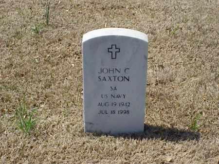 SAXTON (VETERAN), JOHN CHESTER - Pulaski County, Arkansas   JOHN CHESTER SAXTON (VETERAN) - Arkansas Gravestone Photos