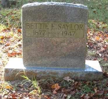 SAYLOR, BETTIE E. - Pulaski County, Arkansas | BETTIE E. SAYLOR - Arkansas Gravestone Photos