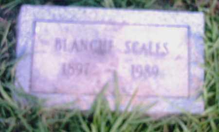 SCALES, BLANCHE - Pulaski County, Arkansas | BLANCHE SCALES - Arkansas Gravestone Photos