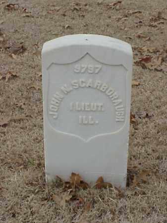 SCARBORAUGH (VETERAN UNION), JOHN N - Pulaski County, Arkansas   JOHN N SCARBORAUGH (VETERAN UNION) - Arkansas Gravestone Photos