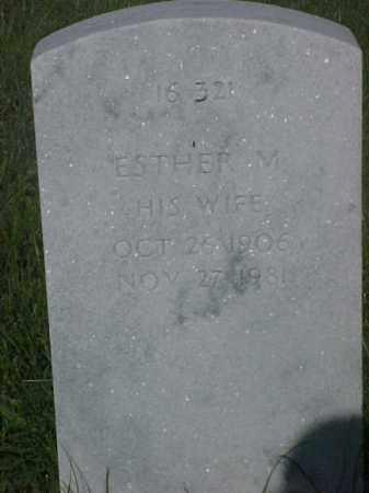 SCARBOROUGH, ESTHER M - Pulaski County, Arkansas   ESTHER M SCARBOROUGH - Arkansas Gravestone Photos