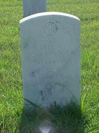 SCARBOROUGH (VETERAN WWII), DELL H - Pulaski County, Arkansas | DELL H SCARBOROUGH (VETERAN WWII) - Arkansas Gravestone Photos