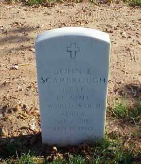 SCARBROUGH (VETERAN 2 WARS), JOHN E - Pulaski County, Arkansas | JOHN E SCARBROUGH (VETERAN 2 WARS) - Arkansas Gravestone Photos