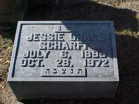 SCHARFF, JESSIE GRACE - Pulaski County, Arkansas   JESSIE GRACE SCHARFF - Arkansas Gravestone Photos