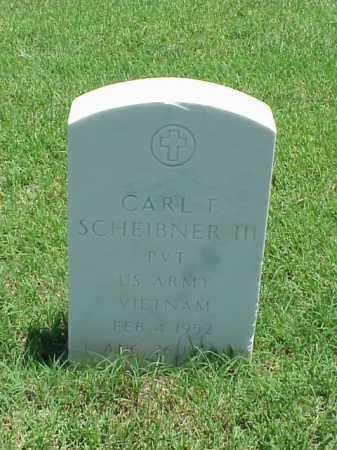 SCHEIBNER, III (VETERAN VIET), CARL F - Pulaski County, Arkansas   CARL F SCHEIBNER, III (VETERAN VIET) - Arkansas Gravestone Photos