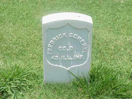 SCHENKE (VETERAN UNION), FREDRICK - Pulaski County, Arkansas | FREDRICK SCHENKE (VETERAN UNION) - Arkansas Gravestone Photos