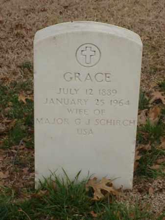 SCHIRCH, GRACE - Pulaski County, Arkansas | GRACE SCHIRCH - Arkansas Gravestone Photos