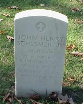 SCHLENER, JR (VETERAN WWII), JOHN HENRY - Pulaski County, Arkansas | JOHN HENRY SCHLENER, JR (VETERAN WWII) - Arkansas Gravestone Photos