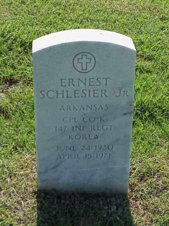 SCHLESIER, JR (VETERAN KOR), ERNEST - Pulaski County, Arkansas | ERNEST SCHLESIER, JR (VETERAN KOR) - Arkansas Gravestone Photos
