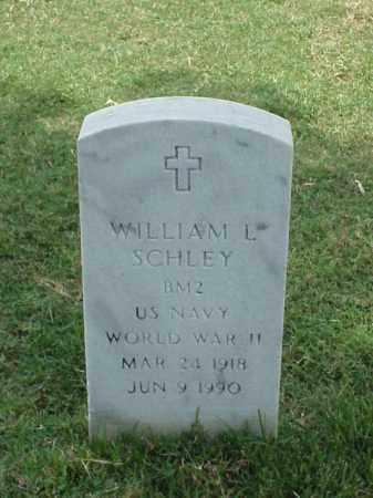 SCHLEY (VETERAN WWII), WILLIAM L - Pulaski County, Arkansas | WILLIAM L SCHLEY (VETERAN WWII) - Arkansas Gravestone Photos