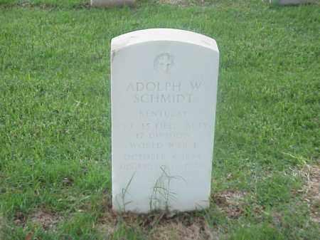 SCHMIDT (VETERAN WWI), ADOLPH W - Pulaski County, Arkansas   ADOLPH W SCHMIDT (VETERAN WWI) - Arkansas Gravestone Photos