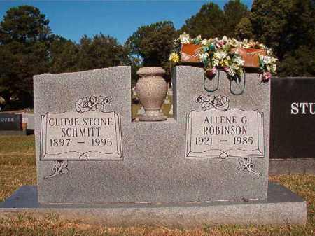 STONE SCHMITT, CLIDIE - Pulaski County, Arkansas   CLIDIE STONE SCHMITT - Arkansas Gravestone Photos