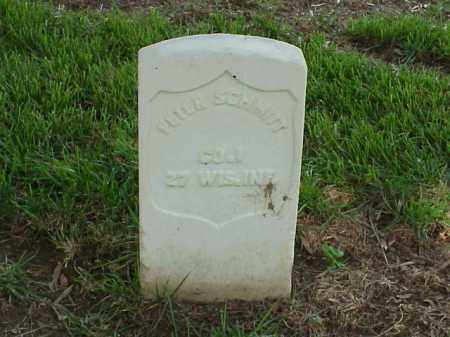 SCHMITT (VETERAN UNION), PETER - Pulaski County, Arkansas | PETER SCHMITT (VETERAN UNION) - Arkansas Gravestone Photos